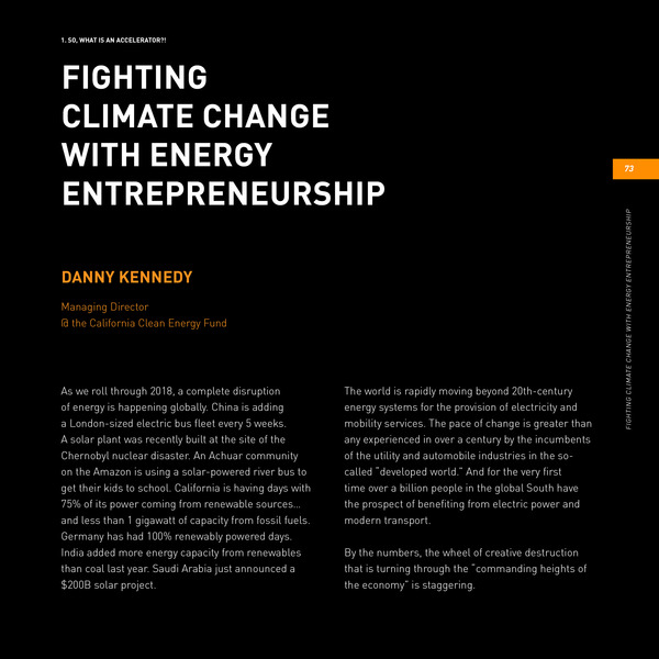 As a clean energy entrepreneur, what are the things you should be anticipating? Get this Book!