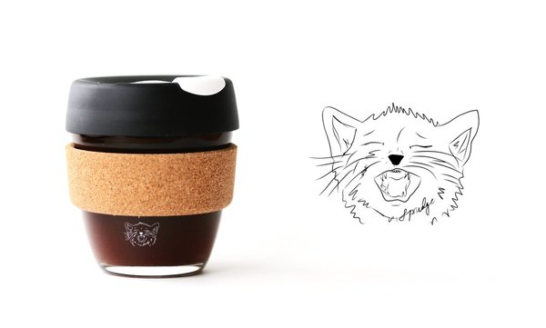 You'll Love These Sprudge x KeepCup Glass Coffee Cups