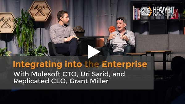 Uri Sarid and Grant Miller: Integrating Into The Enterprise, DevGuild: Enterprise-Ready Products - YouTube