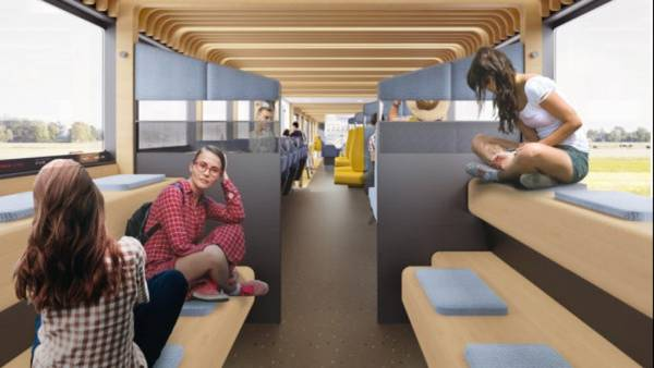 Dutch Trains Of The Future Fuse Work, Home, And Transit