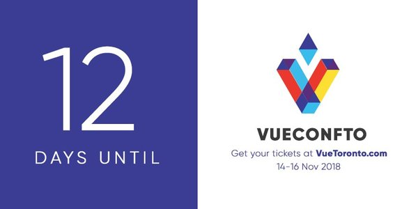 Vue js Feed - Issue #119: A few days left for VueConfTo - VueVixens