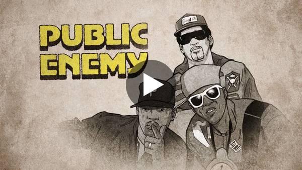 Trailer van het eerste seizoen van de Netflix-serie: Hip-Hop Evolution.