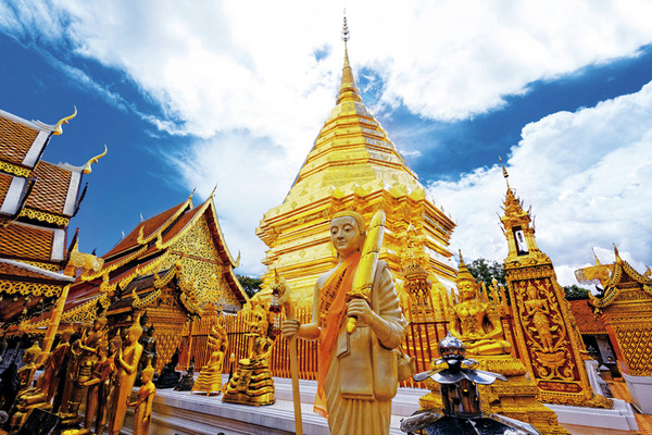Doi Suthep in Chiang Mai.