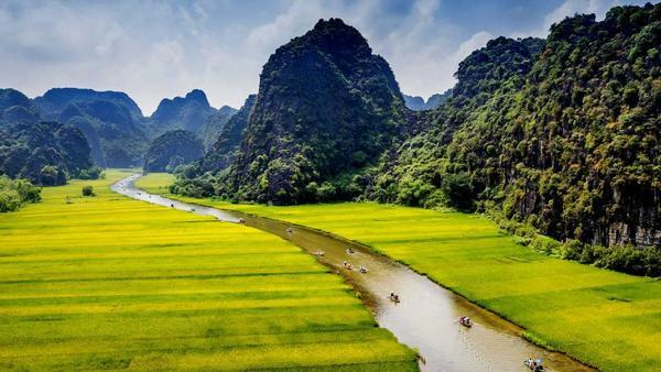 Ongeëvenaard: Ninh Binh, Vietnam
