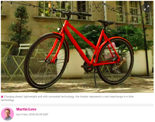 Elegant, chic and urbane, this new lightweight electric bike will silence the most strident critics