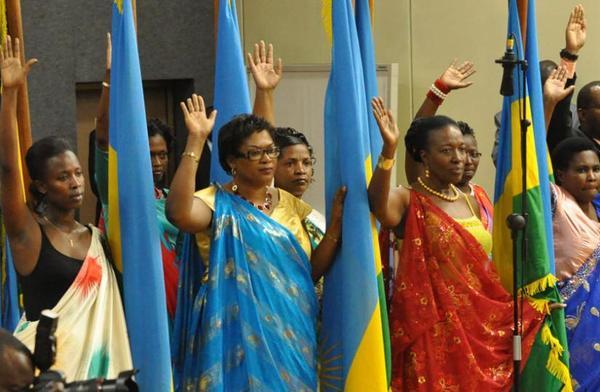 Ruanda hat einen neuen Weltrekord für Frauen im Parlament aufgestellt