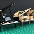 :KLEF Piano For BBC microbit Free Case Resources  - Kitronik