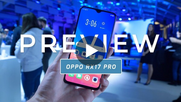 OPPO RX17 Pro preview (Dutch) - YouTube