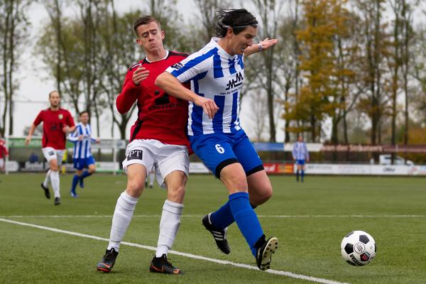 Achilles Veen is Almkerk met 0-1 de baas
