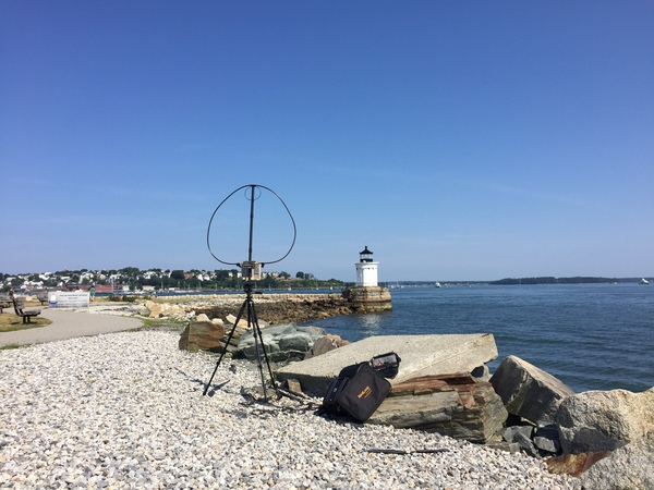 Lighthouses on the Air in Portland, ME (2017)