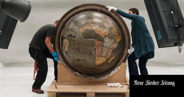 In der Schweiz wird aktuell einer der größten Globen digitalisiert