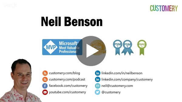 Successfully implementing Microsoft Dynamics 365 using Scrum with Neil Benson (MVP) - YouTube