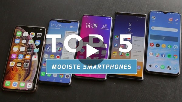 Top 5: de mooiste smartphones (Dutch) - YouTube