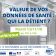 """Conférence """"Valeur de vos données de santé : qui la détient ?"""" - Amiens cluster"""