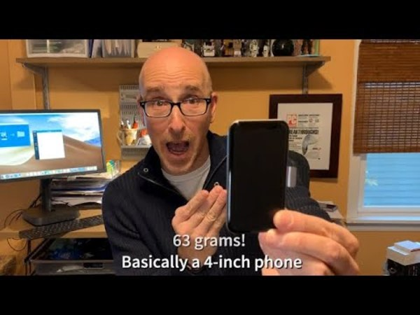 Palm Phone! My Big Review of a Tiny Phone - YouTube