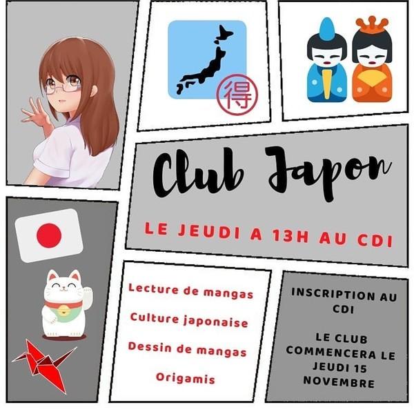 Club Japon au CDI