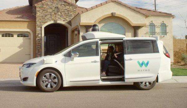 Waymo's Self-driving Cars Service