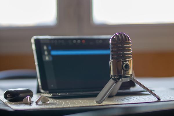 Produire un podcast sur ipad