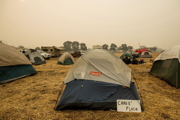Norovirus outbreak confirmed at California wildfire shelter
