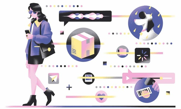 'Tasks have been transferred from employees to consumers.' Illustration: Michele Marconi for the Guardian