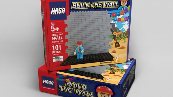 "Fox News is hawking a racist ""Build the wall"" Lego knockoff"