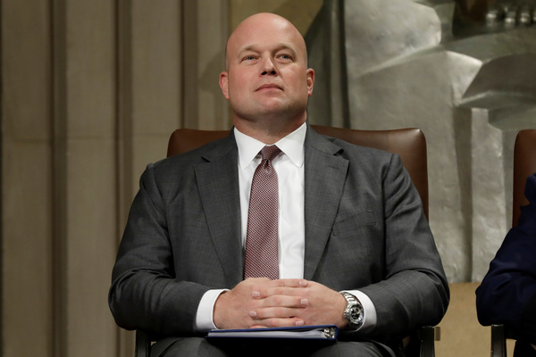 Matt Whitaker (foto: Reuters)