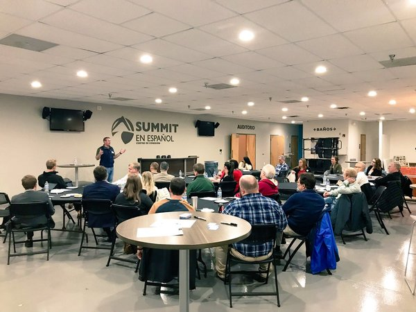 This week at our Stewardship Volunteer Equip, one of our leaders, Josh Beck, taught our volunteers how to keep the gospel at the center of our financial coaching sessions! You can read what he shared and all the notes from the meeting by clicking the image above.
