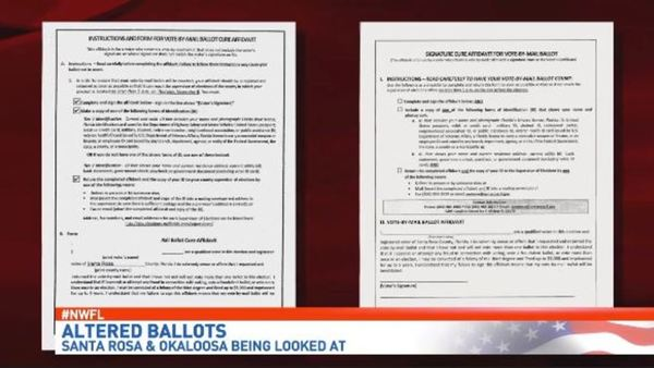 Altered election affidavits found in Santa Rosa and Okaloosa County