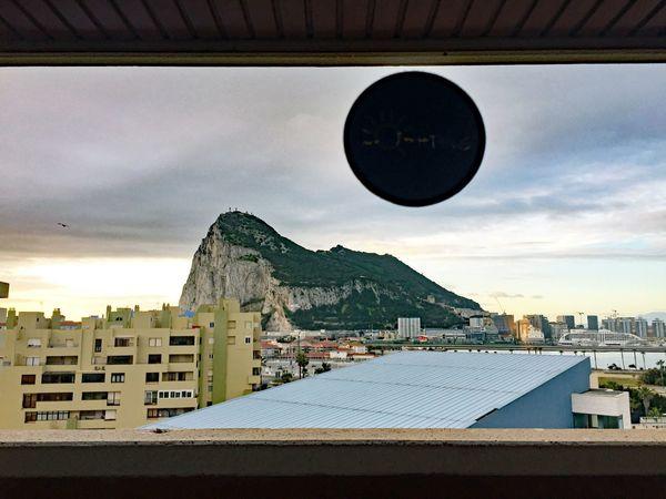 Gibraltar gezien vanuit Spanje - foto Rop Zoutberg