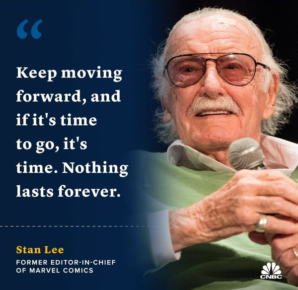 Rest in peace, Stan. Your genius made our world a more magical place.