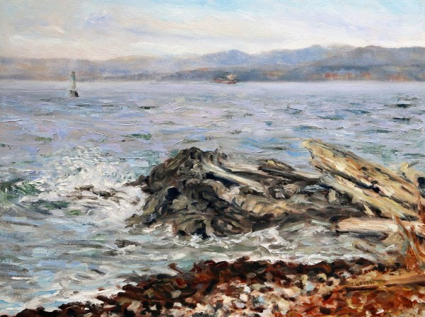 Last Days Before Snow Victoria BC by Terrill Welch  | Artwork Archive