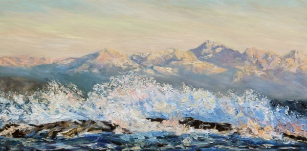 Northeasterly Morning Strait of Georgia Mayne Island | Artwork Archive