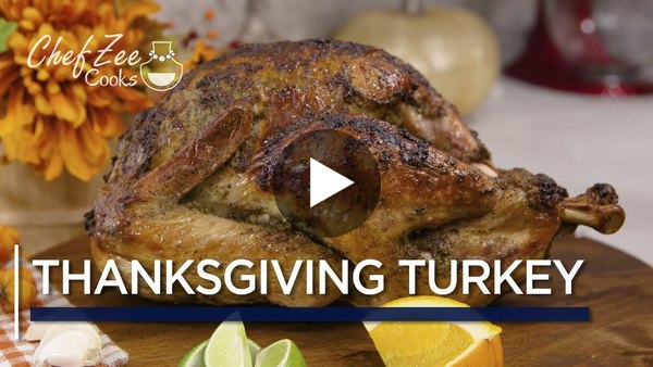 (5.) VIDEO: Cooking for the holidays? Chef Zee teaches us Pernil Style Turkey 😜