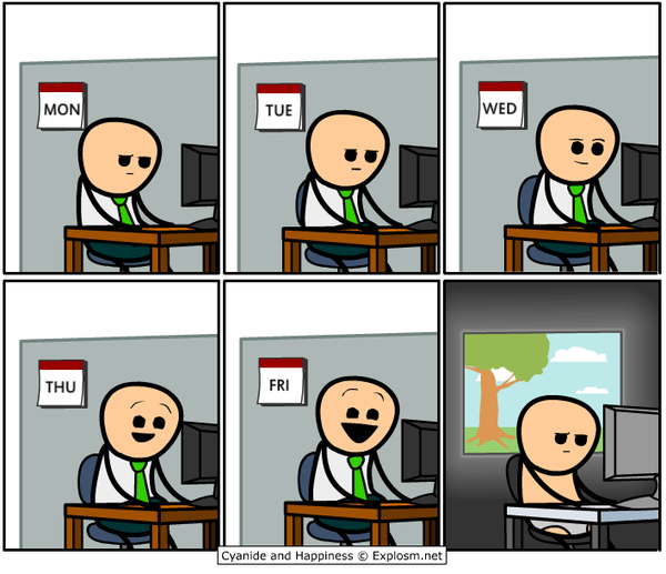 Credit: Rob DenBleyker - Cyanide and Happiness