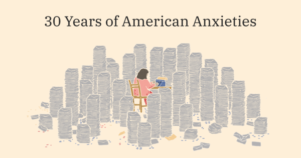 30 Years of American Anxieties