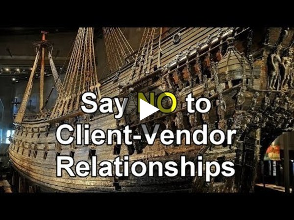 "Dynamics 365 2MT Episode 44: ""Stay away from Client-Vendor Relationships"" - YouTube"