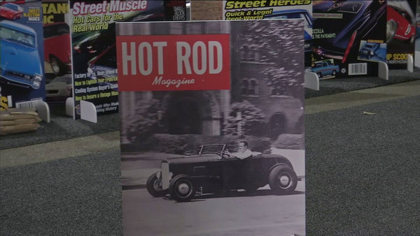 Hot Rod magazine celebrates 70 years in high-horsepower style | abc7.com