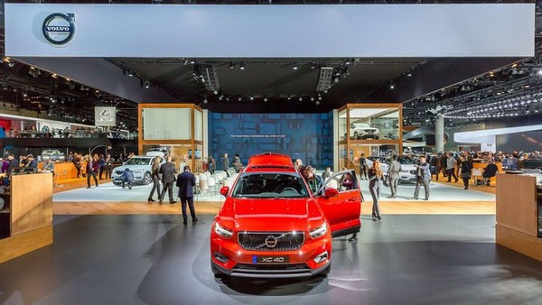 Volvo's 2018 LA Auto Show stand won't have any cars