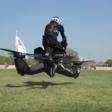 Dubaï : police is testing flying motorbike