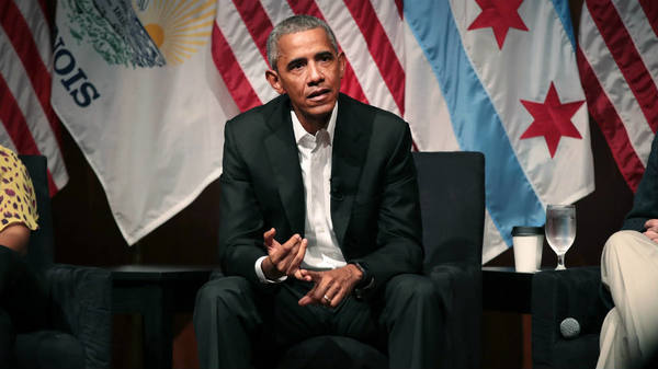 Obama visits Chicago food bank ahead of Thanksgiving | TheHill