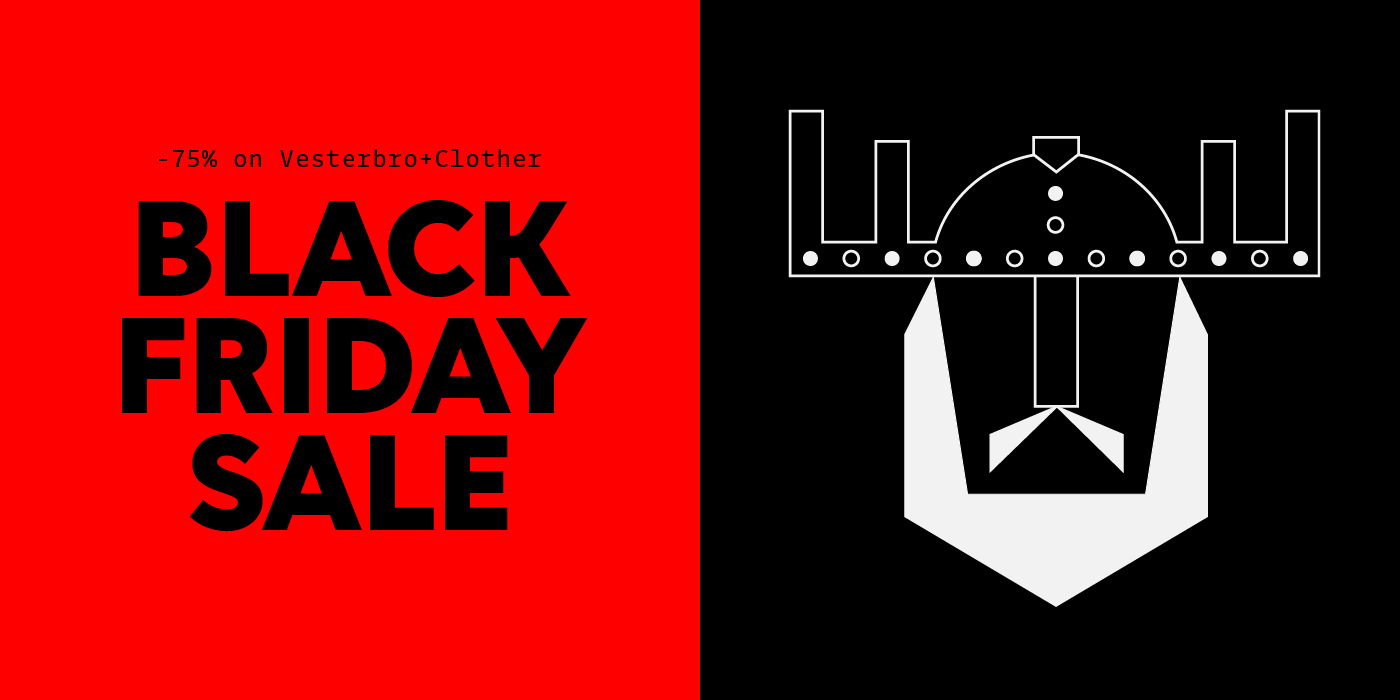 Get 75% off Vesterbro and Clother when buying them together