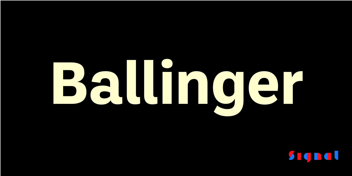 All Ballinger and Ballinger Mono styles are 50% off