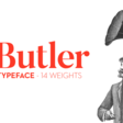 Butler – Typeface