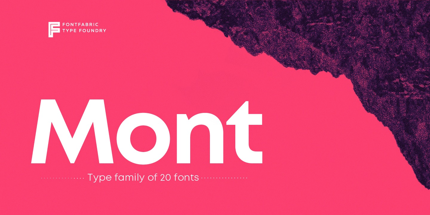 The full Fontfabric library is 75% off