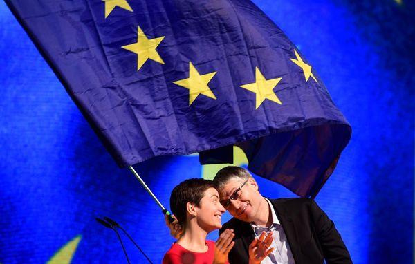 Ska Keller samen met Sven Giegold eveneens van de Groenen