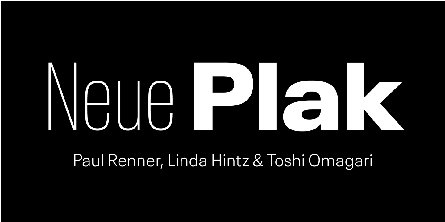 The complete Neue Plak family pack is 75% off