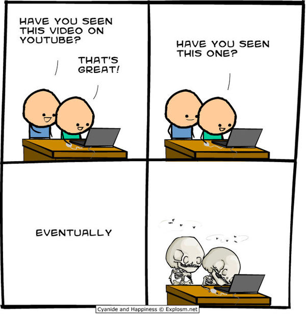 YouTube by Kris Wilson - Credit: Cyanide and Happiness