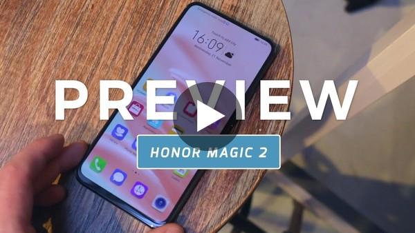 Honor Magic 2 preview: slider herboren (Dutch)