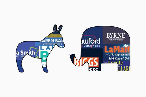 The 2018 midterms in campaign logos, all 900 of them