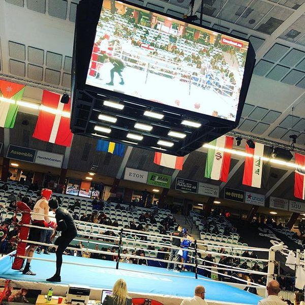 422 boksere fra hele verden var på plass i Borås i helgen.